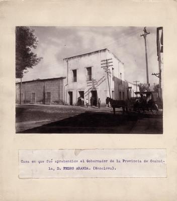 Casa en que fue aprehendido Pedro Aranda