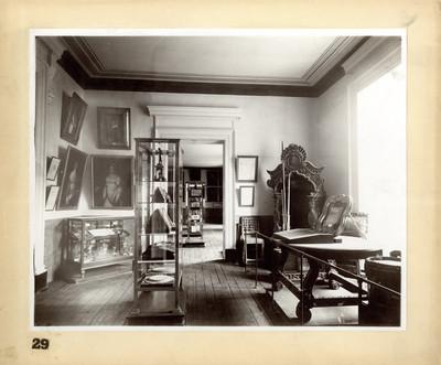 Salones de la Sección del Corte Industrial Retrospectivo, Museo Nacional