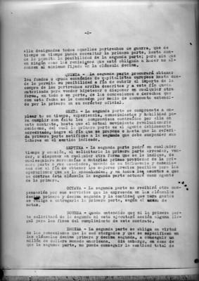 Página 2 del contrato firmado entre Rafael Zubarán C. y Adolfo de la Huerta