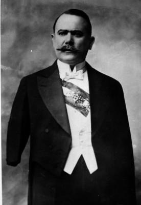 Presidente Álvaro Obregón Salido, retrato