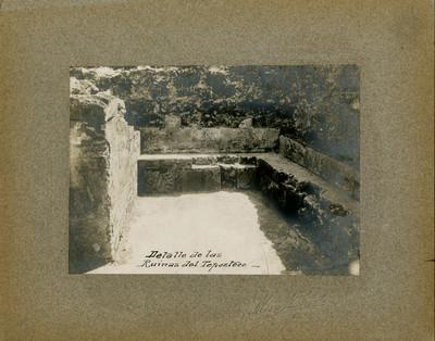 Bajorrelieves de la Pirámide del Tepozteco, detalle