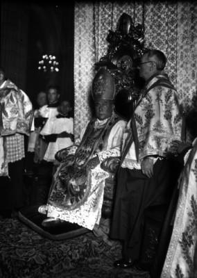 El Arsobispo de México Pascual Díaz en la Basílica de Guadalupe