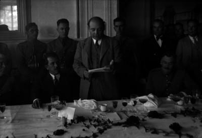Abelardo L. Rodríguez en un banquete