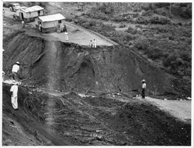 Campamento de los trabajadores del oleoducto
