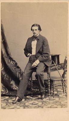 """""""J.G. Corl. Khevenhuller"""", tarjeta de visita"""