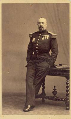 Francisco Aquiles Bazaine, tarjeta de visita