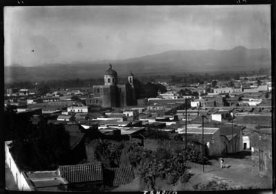 Panorámica de Tulancingo y Catedral de San Juan Bautista