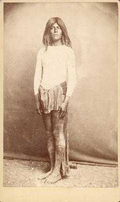 Hombre de la tribu Cutchán