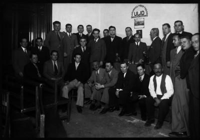 Miembros de la asociación ULID, retrato de grupo