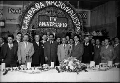 Luis I. Rodríguez en el aniversario de la Compañía Nacionalista
