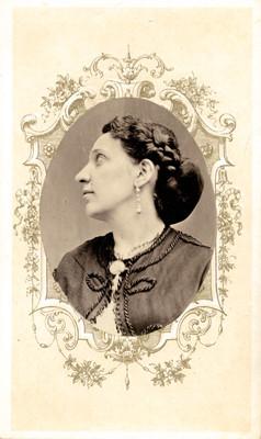 Maria Luisa de Fanrequi, tarjeta de visita