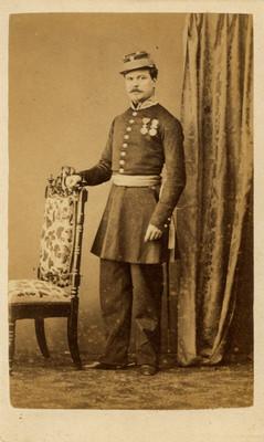 Militar, retrato