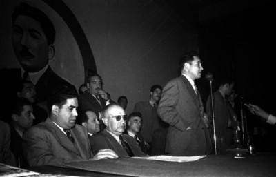 Rodolfo Sánchez Taboada durante una reunion de la C.N.O.P.