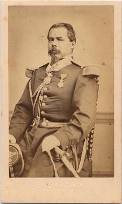 General Méndez, retrato