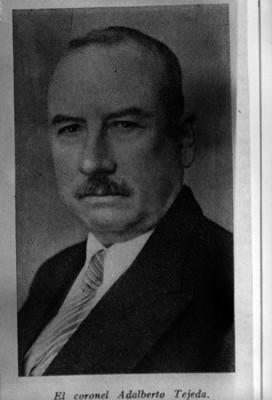 """""""Adalberto Tejeda"""" Olivares, retrato"""