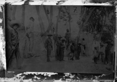 Rebeldes ejecutados en Uruapan