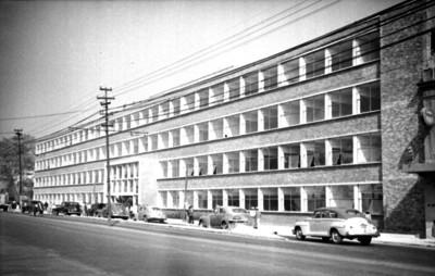 Escuela Normal, fachada
