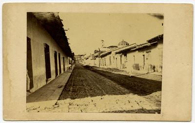 Jalapa. Calle del Calvario