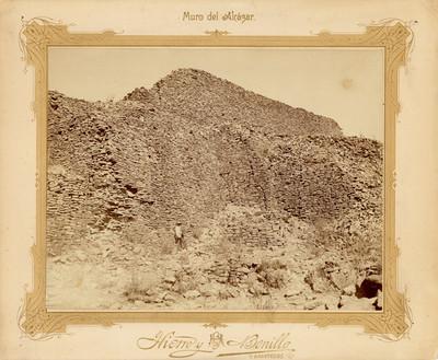 """""""Muro del Alcázar"""", ruinas de La Quemada"""