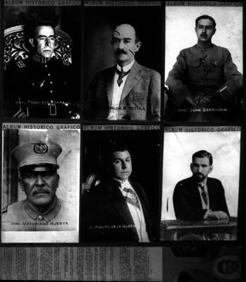 Francisco Serrano, Carlos B. Zetina, Juan Barragán, y otros personajes de la Revolución
