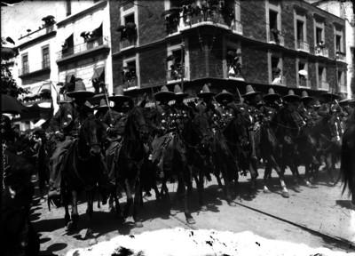 Entrada de tropas villistas a la ciudad de México