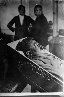 Emiliano Zapata, cadáver