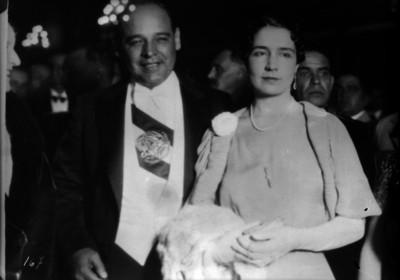 Abelardo L. Rodríguez y su esposa, retrato