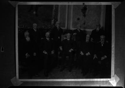 Porfirio Díaz y su gabinete