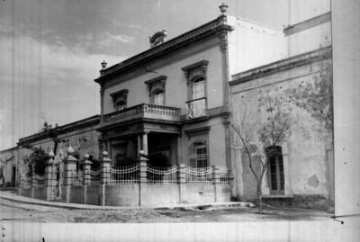 Edificio que ocupó el cuartel general de la División del Norte