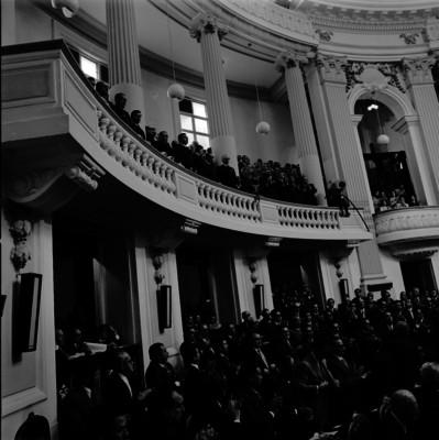 Asistentes al Segundo Informe de Gobierno de Luis Echeverría Alvarez