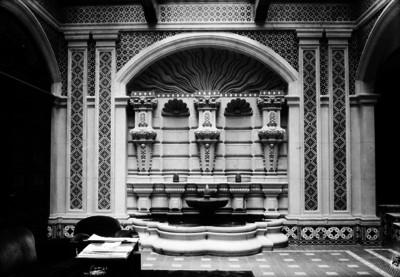 Lobby y fuente del Gran Hotel de la Ciudad de México