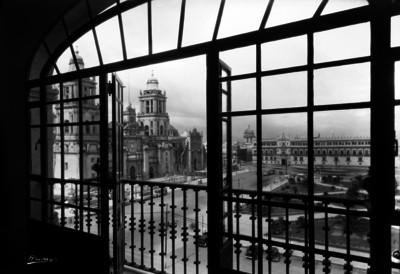 Catedral Metropolitana, vista desde el Gran Hotel