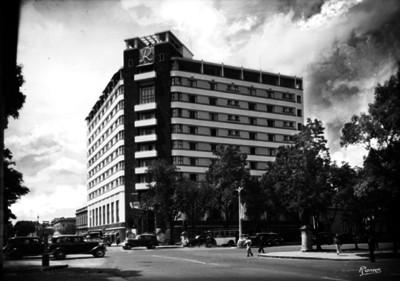 Hotel Reforma, fachada