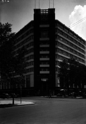 """""""Hotel Reforma"""", vista frontal"""