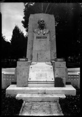 Monumento en honor a Alvaro Obregón en Mixcoac