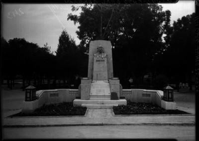 Monumento a Alvaro Obregón en Mixcoac, obra terminada