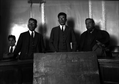 Miembros de un jurado durante un juicio