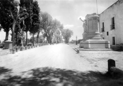 Monumento a José María Morelos y Pavón, panorámica