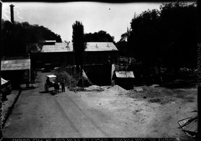 Obras de saneamiento en las bombas de San Lázaro
