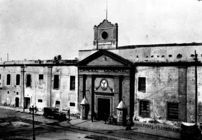 Cárcel General, fachada de edificio