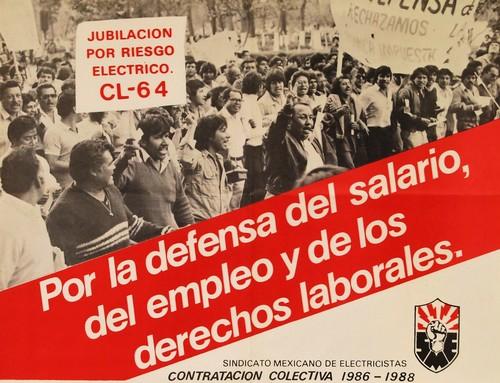 Por la defensa del salario, del empleo y de los derechos laborales.