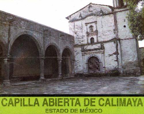 Capilla Abierta de Calimaya