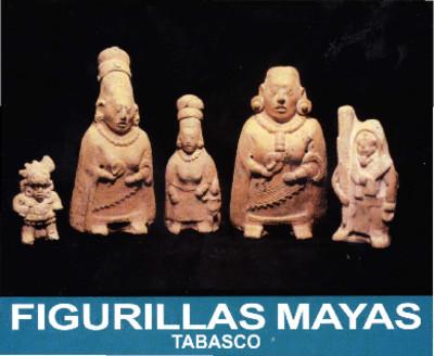 Figurillas Mayas