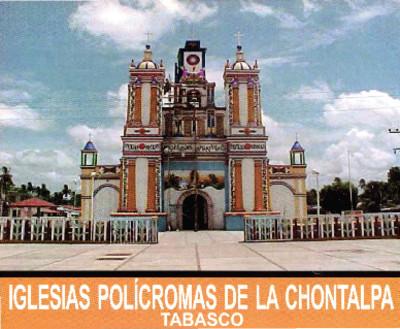 Iglesias polícromas de la Chontalpa