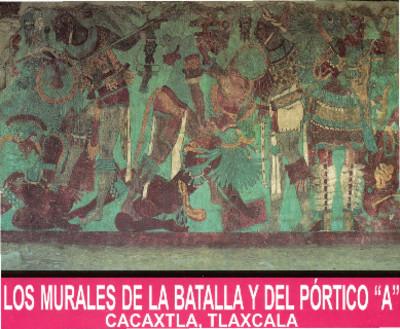"""Los Murales de la Batalla y del Pórtico """"A"""""""