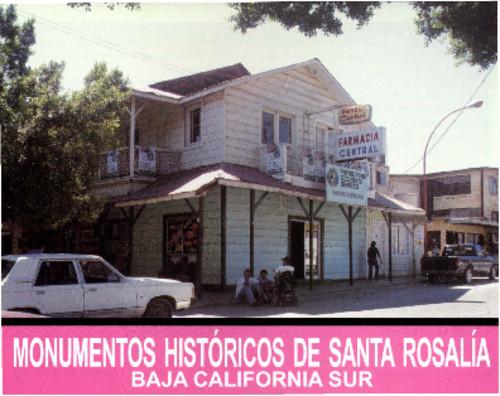 Monumentos Históricos de Santa Rosalía