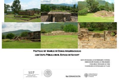 Políticas de Manejo de Zonas Arqueológicas con Visita Pública, Nayarit