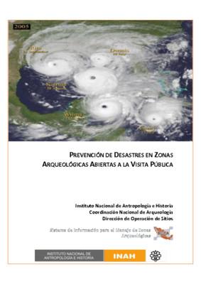 Prevención de desastres en zonas arqueológicas abiertas a la visita pública