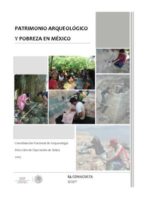 Patrimonio Arqueológico y Pobreza en México