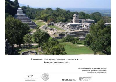 Zonas Arqueológicas con vínculo de concurrencia con Áreas Naturales Protegidas